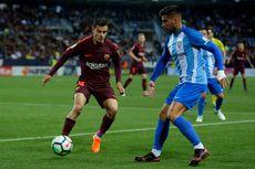 Hasil Liga Spanyol, Tanpa Messi, Suarez-Coutinho Menangkan Barcelona