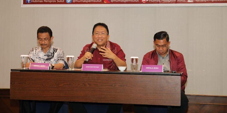 Sekretaris Daerah Provinsi Sulawesi Utara Edwin Silangen mengajak seluruh insan pers ikut menangkal berita hoax.