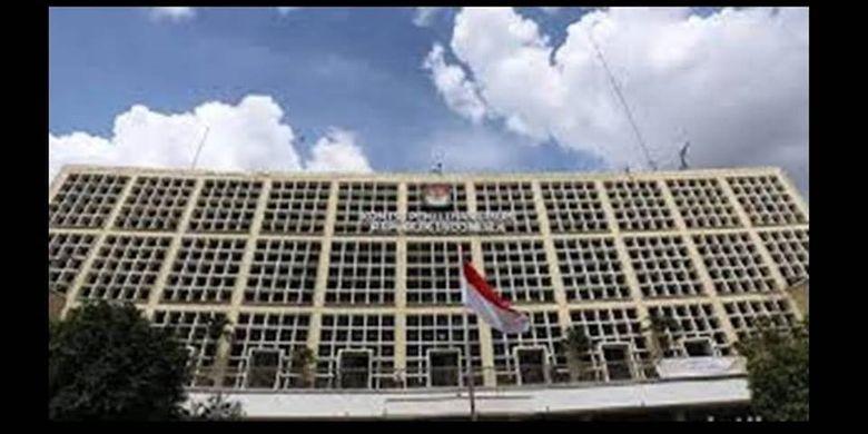 Gedung Komisi Pemilihan Umum (KPU) di Jalan Imam Bonjol, Jakarta Pusat.