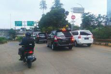 Pengalihan Arus Lalin di Jalan Antasari Belum Berlaku