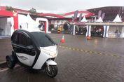 Sepeda Motor Listrik Roda Tiga Bisa Dites di IIMS 2018