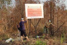 Lagi, KLHK Segel 2 Lahan Terbakar Milik Perkebunan Sawit