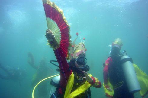 Menari Gandrung di Dalam Air, Bukan Sekadar Sensasi tapi Demi NKRI