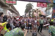 Sandi Ikut Ramaikan JF3 Run di Kelapa Gading