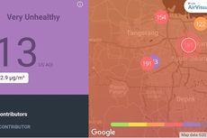 Polusi Udara Pagi Ini, Jakarta Terburuk di Dunia, Tangsel Lebih Buruk Lagi