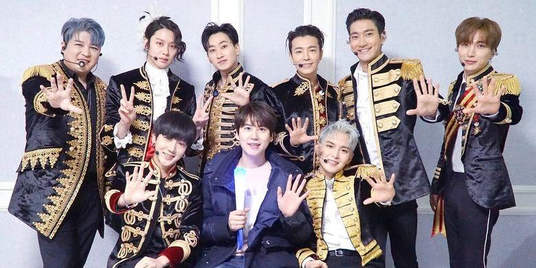 Boyband bentukan SM Entertainment, Super Junior.