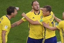 Swedia, Skuad Termurah pada Perempat Final Piala Dunia 2018
