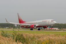 Penumpang Hajar Kru Kabin, Pesawat Rossiya Airlines Mendarat Darurat