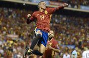 Kegembiraan Ganda Striker Timnas Spanyol