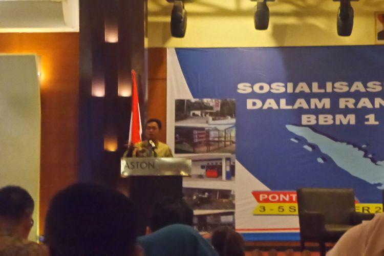 Kepala BPH Migas Fanshurullah Asa.