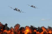 Serangan Udara AS Tak Sengaja Bunuh 17 Polisi Afghanistan