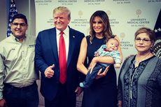 Berfoto dengan Anak Korban Penembakan Massal Texas, Trump Menuai Kecaman, Mengapa?