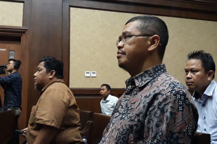 Politisi Partai Keadilan Sejahtera (PKS) Yudi Widiana Adia di Pengadilan Tipikor Jakarta, Rabu (21/3/2018).