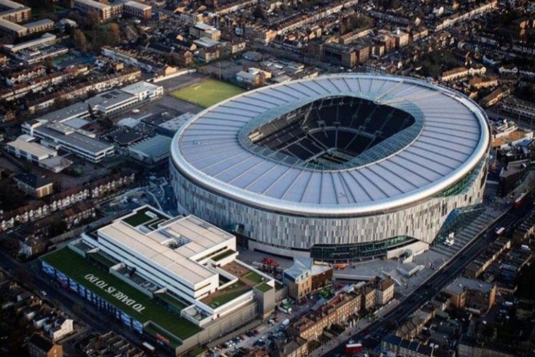 Stadion baru Tottenham Hotspur yang akan mulai digunakan pada 3 April 2019.