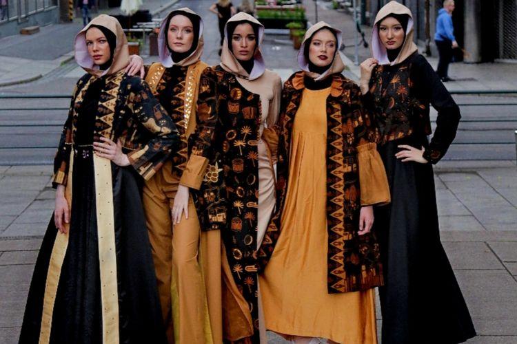 Batik Betawi ini ikut dipamerkan dalam acara KBRI Norwegia, Festival Indonesia di Oslo pada 29-30 Juni 2019.