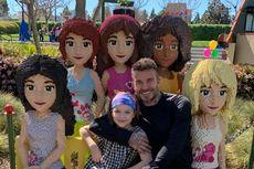 Foto-foto, David Beckham Jalan Berdua dengan Putri Bungsunya