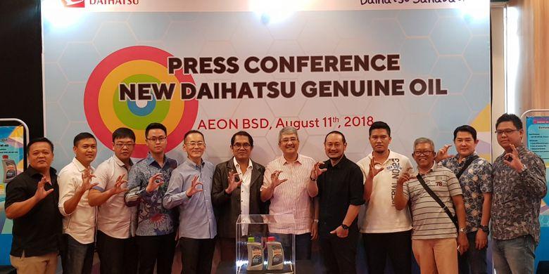 Peluncuran oli baru Daihatsu Agustus 2018