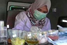 Makanan Takjil Mengandung Tekstil Pakaian Ditemukan di Majene