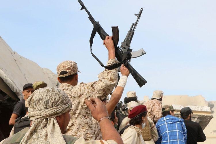 Pasukan bersenjata yang setia pada pemerintah Libya di Sirte telah berhasil menyelamatkan delapan migran Sudan dari penculikan dan penyiksaan.
