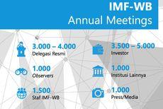 Pertemuan IMF-Bank Dunia, Gubernur Bank Sentral Sedunia Tiba di Bali