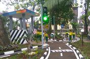 Kini Ada Taman Lalu Lintas Pertama di RPTRA Jakarta Timur