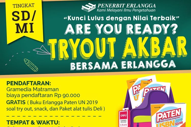 Ilustrasi. Try Out Akbar Gramedia Matraman