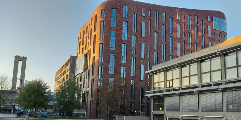 Vrije Universiteit Amsterdam (VU), Amsterdam, Jumat (16/11/2018).