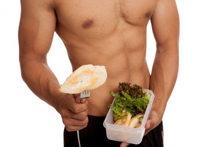 Ilustrasi diet dan bentuk tubuh