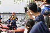 Cegah Warga Berkumpul, Petugas Akan Pantau Buaya di Kali Grogol Tanpa Seragam