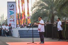 JK Berharap Waktu Tempuh dari Wisma Atlet ke Senayan 34 Menit