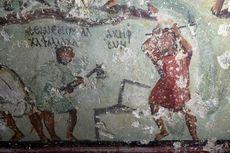 Punya Balon Kata, Lukisan Dinding Zaman Romawi Kuno Ini Mirip Komik