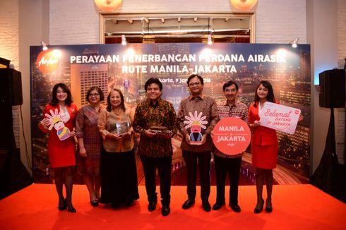 AirAsia Buka Rute Penerbangan Baru Manila-Jakarta