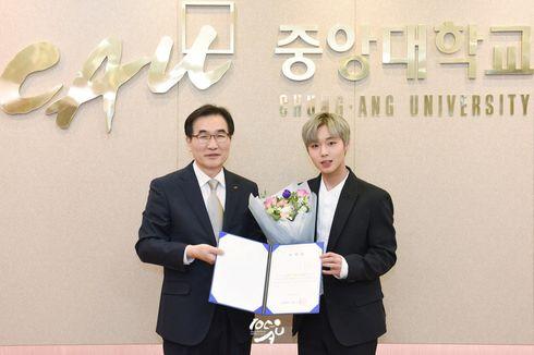 Park Ji Hoon, Member Wanna One, Jadi Duta Kehormatan Universitasnya