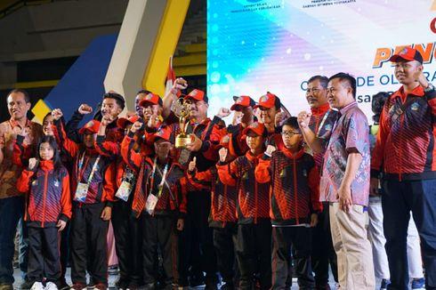 Bali Raih Juara Umum Olimpiade Olahraga Siswa Nasional 2018
