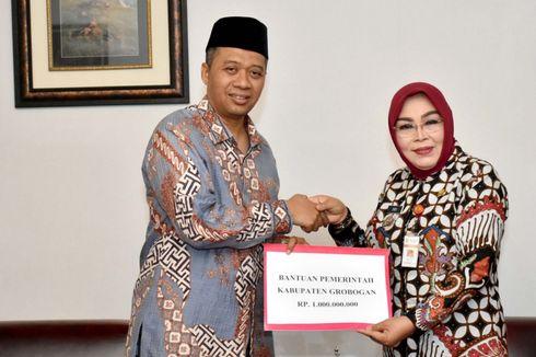 Kunjungi Lokasi Gempa Lombok, Bupati Grobogan Mengaku Terenyuh