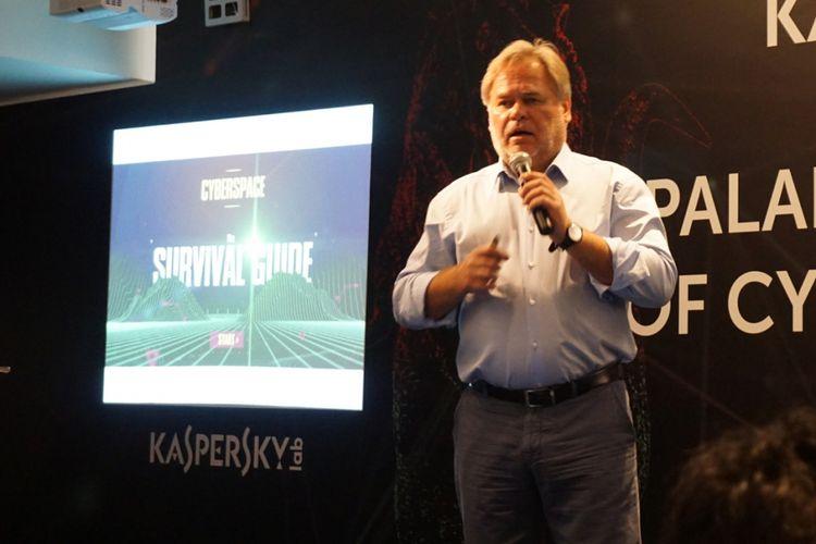 Eugene Kaspersky, CEO sekaligus pendiri Kaspersky Lab