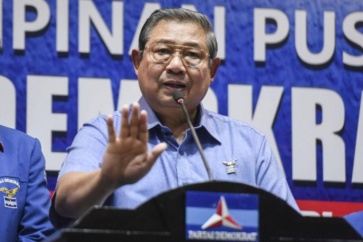 SBY Akui Utamakan Kemenangan Demokrat Ketimbang Prabowo-Sandi