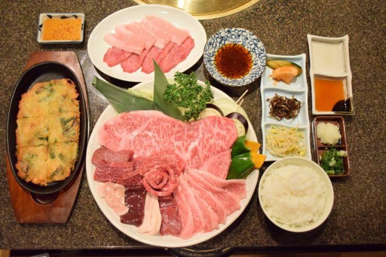 Take Course Beef seharga 4.500 yen per orang