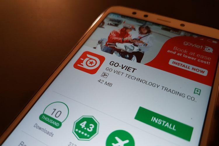 Aplikasi Go-Viet resmi dirilis di App Store dan Play Store