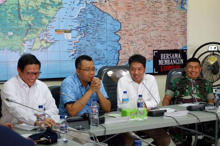 Kemenko PMK Cek Langsung Progres Pembangunan Rumah Pascagempa NTB