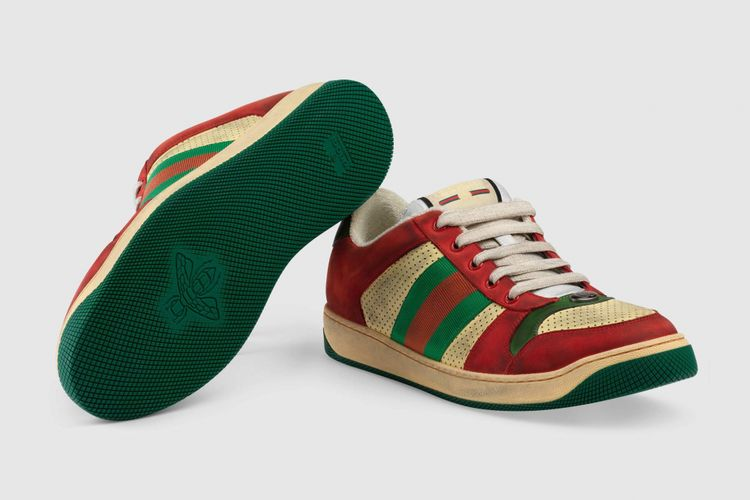 Sneaker Screener baru Gucci
