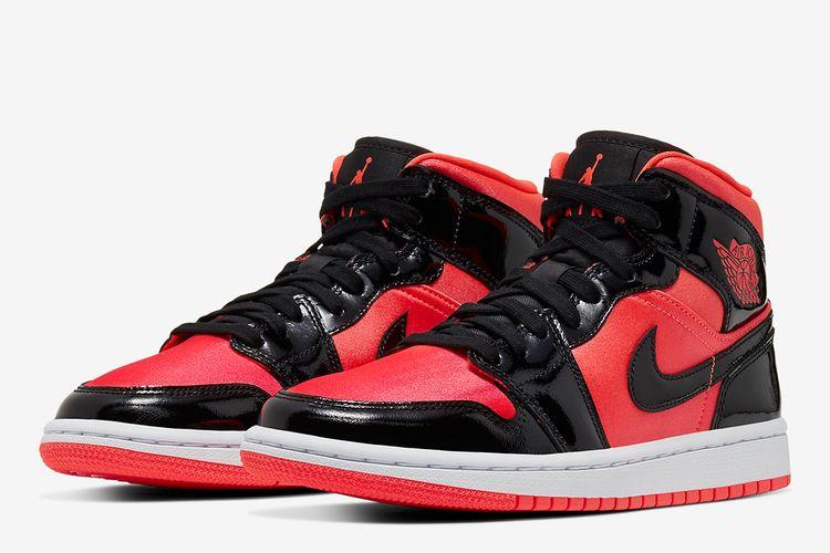 Air Jordan 1 Mid reddish-orange