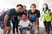 Marcus/Kevin Berikan Momen Istimewa untuk Fans Penyandang Disabilitas