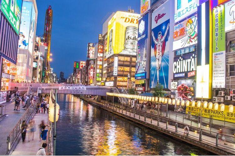 Ilustrasi Osaka.