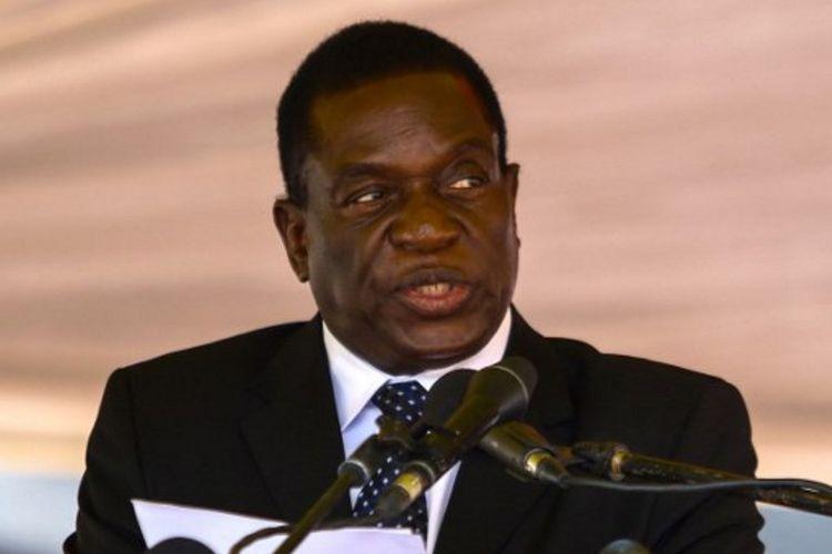 Mantan wakil presiden Zimbabwe, Emmerson Mnangagwa
