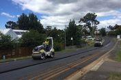 Di Tasmania, Sampah Plastik dan Kaca Dijadikan Pengganti Aspal