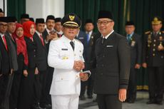 Lantik Bupati Definitif, Ridwan Kamil Sebut di Bekasi Banyak Godaan