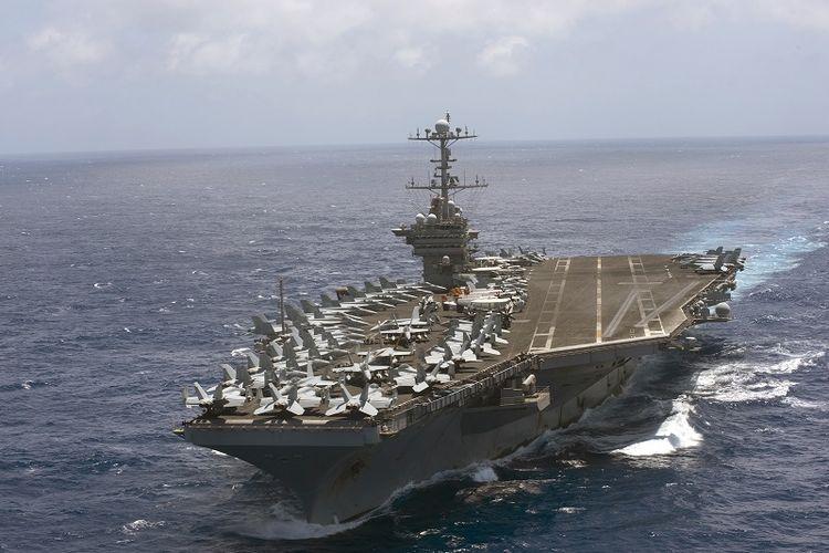 Kapal induk AS USS Harry S Truman dikabarkan sudah dikirim ke wilayah timur Laut Tengah diduga mempersiapkan serangan terhadap Suriah.