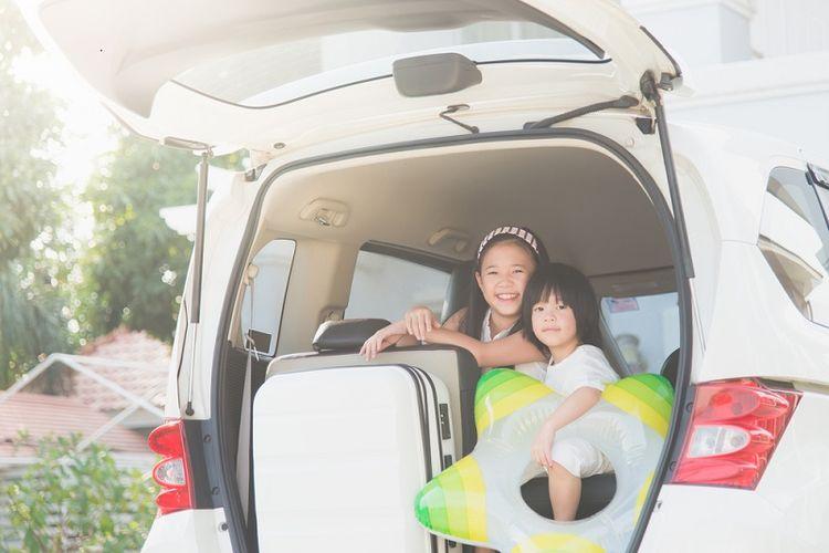 Keuntungan mudik dengan MPV lainnya adalah mobil ini memiliki tempat khusus untuk menaruh barang bawaan di bagian belakang.