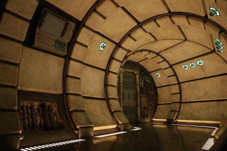 Star Wars: Galaxy?s Edge yang tengah dibangun Disney dan akan dibuka pada 2019 mendatang.